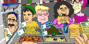 Spiel - Falafel king