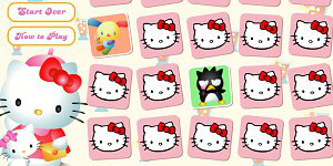 Spiel - Hello Kitty Pexeso 2