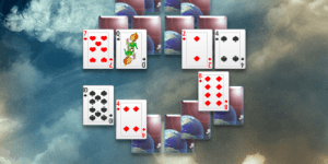 Spiel - Galactic Odyssey Solitaire