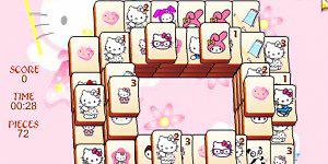 Spiel - Hello Kitty Mahjong
