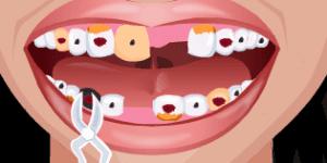 Spiel - Crazy Dentist